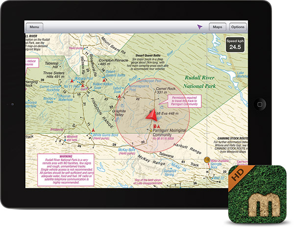 Mud Map HD is available from the App Store